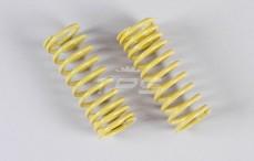 Schokdemper veer progressief (Ø17-Ø21), (Ø2,3 x L58 mm), (Geel), 2 St.