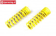 FG7197 Shock absorber spring progressive Yellow Ø17- L68 mm, 2 pcs.