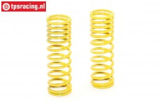 FG7197 Shock spring progressive Yellow Ø2,3-L68 mm, 2 pcs.