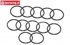 FG7206/04 Shock O-ring adjustment Ø20 mm, 12 pcs.