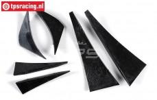 FG7234 Wing attachment parts Mercedes CLK-DTM-06, Set