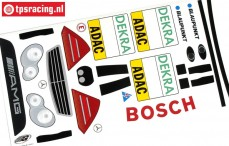 FG7243/01 Decals Mercedes C-Klasse DTM, set