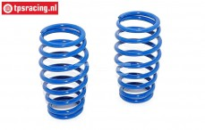 FG7285 Shock spring Bleu Ø2,6-Ø17-L50 mm, 2 pcs.