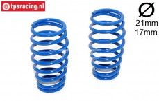 FG7285 Shock spring Bleu Ø2,6-L57 mm, 2 pcs.