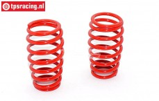 FG7286 Shock spring red Ø2,7-L57 mm, 2 pcs.