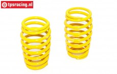 FG7289 Shock spring Yellow Ø2,8-17-L50 mm, 2 pcs.