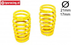 FG7289 Shock spring Yellow Ø2,8-L50 mm, 2 pcs.