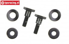 FG7318 Zenoah Clutch shoe bolt, Set