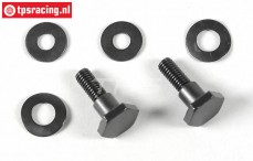 FG7318/01 Tuning Zenoah Clutch shoe bolt, Set