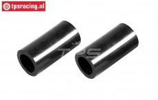 FG7331/06 Heat resistant silencer hose, 2 pcs.