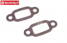 FG7332 Exhaust gasket with steel core, 2 pcs.