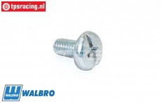 FG7364/01 Walbro Carburator cover screw, 1 pc.