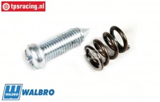 FG7365/09 Walbro Throttle screw with spring, Set