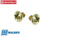 FG7375 Walbro Carburetor screw, 2 pcs