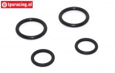 FG7404/03 Heat resistant exhaust O-rings, Set