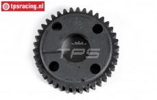 FG7424/01 Plastic gear 38T wide, (Ø47-B12 mm), 1 pc
