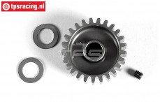 FG7430/25 Anodised alloy gear 25T wide, (Ø10-B12 mm), 1 pc.