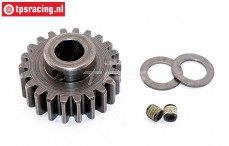 FG7431 Steel Gear 22T wide Ø10-W12 mm, 1 St.