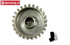 FG7432/22 Steel gear 22T wide, (Ø10-B12 mm), 1 pc