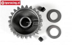 FG7432/23 Steel gear 23T Wide, (Ø10-B12 mm), 1 pc