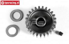 FG7432/25 Steel Gear 25T wide, (Ø10-B12 mm), 1 St.