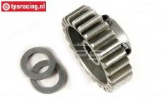 FG7432 Steel Gear 24T wide, (Ø10-B12 mm), 1 St.