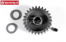 FG7433 Steel gear wide 26T, (Ø10-B12 mm), 1 pc.