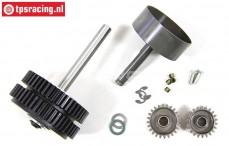 FG7453 2-Speed Gearbox FG 1/6 4WD, Set