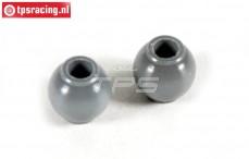 FG7475/03 Aluminium ball joint with coating, 2 pcs.