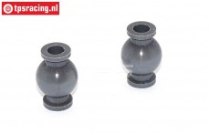 FG7475/05 Aluminium ball joint with coating, 2 pcs.