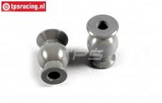 FG7475/06 Aluminium ball joint with coating, 2 pcs.