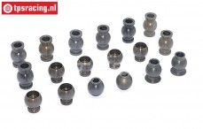 FG7475 Alloy ball joint with coating 1/5, 18 pcs