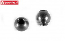 FG8081 Steel ball, (Ø4-Ø10-H10 mm), 2 pcs