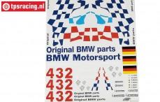 FG8170 Team Decals BMW M3 GTR, Set