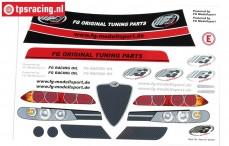 FG8079/01 Decals Alfa Romeo 156WTCC, Set