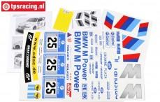 FG8185 Team Decals BMW ALMS, Set