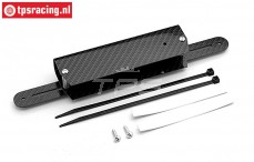 FG8415 Carbon battery mount, (L270-L160-B50-H25 mm), Set