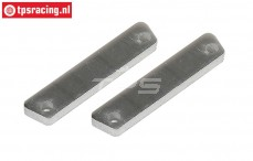 FG8456/01 Alloy Brake lining, 2 pcs.