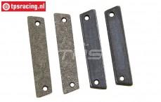 FG8457/03 Tuning Brake lining disk brakes, 4 pcs.