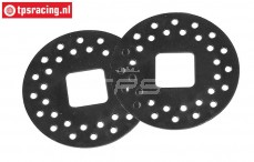 FG8458 Steel brake disk, Ø60 mm, 2 pcs.