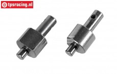 FG8459/01 Brake shaft Cable brakes, L/R, 2 pcs.