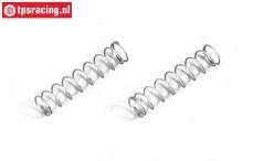 FG8463/01 Pressure spring disk brakes, Ø3-L12 mm, 2 pcs