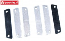 FG8456/01 Alloy-Steel Brake lining, Set