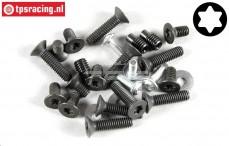 FG8494/01 Torx Screws alloy differential, Set