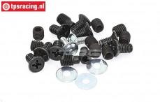 FG8494 Screws alloy differential, Set