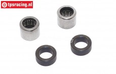FG8498/01 Differentieel Needle bearing-steel bushing, Set