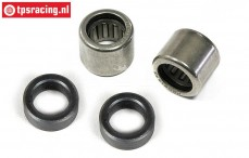 FG8498/01 Differentieel Needle bearing with steel bushing, Set