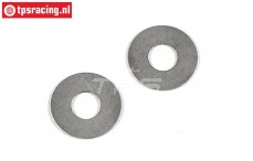 FG8509/05 Steel shim washer Ø8-Ø20-H0,5 mm, 2 pcs