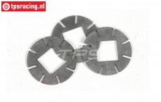 FG8600/04 Inner coupling plates Viscose/Powerlock, 3 pcs