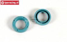 FG8600/06 Shaft seal Differential, (Ø8-Ø12-H3 mm), 2 pcs